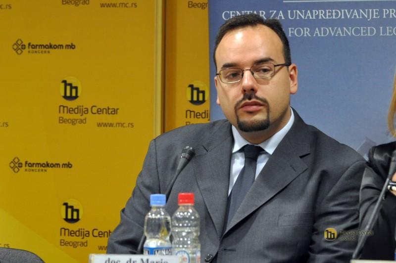 dr Mario Reljanović, (foto: Medija centar Beograd)