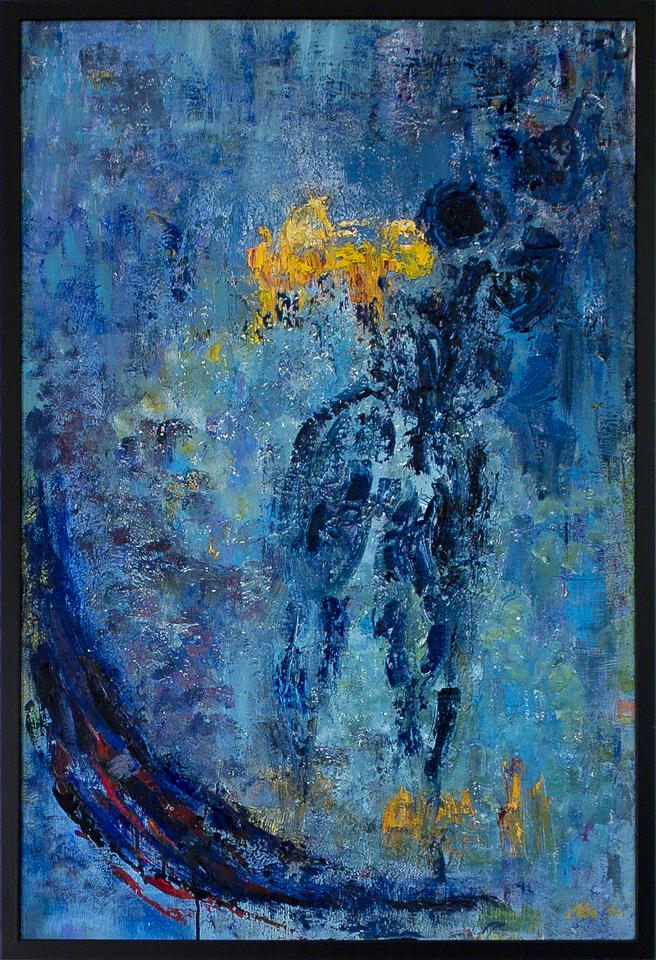Plava nimfa, autor Milica Kostić