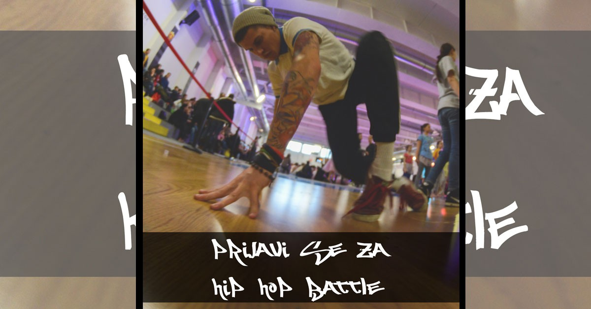 Prijava za HIP HOP DANCE battle