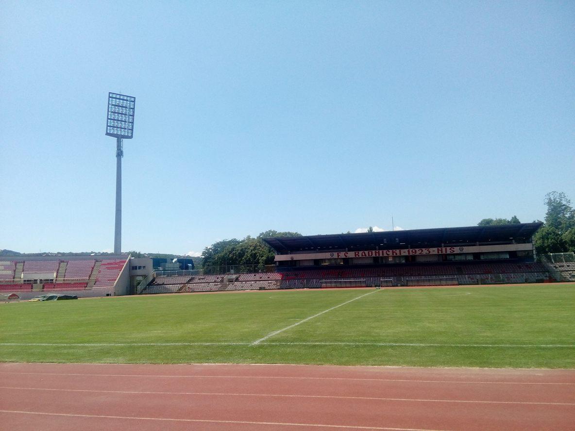 Stadion Čair dan pred meč Radnički - Gzira